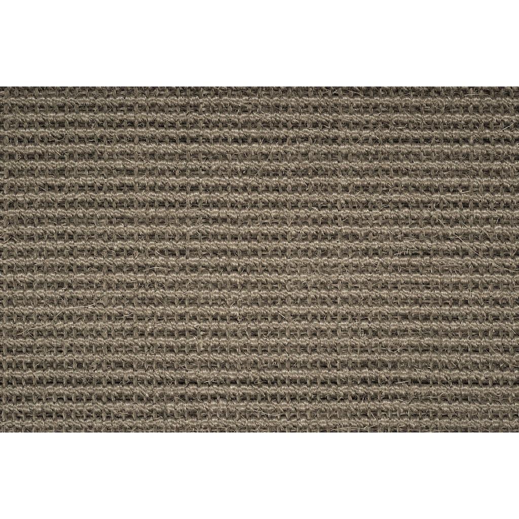 Dekowe Sisalteppich »Mara S2, gekettelt, Wunschmaß«, rechteckig, 5 mm Höhe, Obermaterial: 100% Sisal, Wohnzimmer