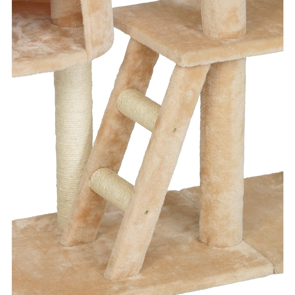 ABUKI Kratzbaum »XXL«, hoch, BxTxH: 120x50x255 cm