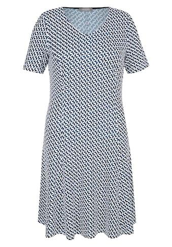 Rabe Shirtkleid, mit geometrischem Muster und halblangen Ärmeln kaufen