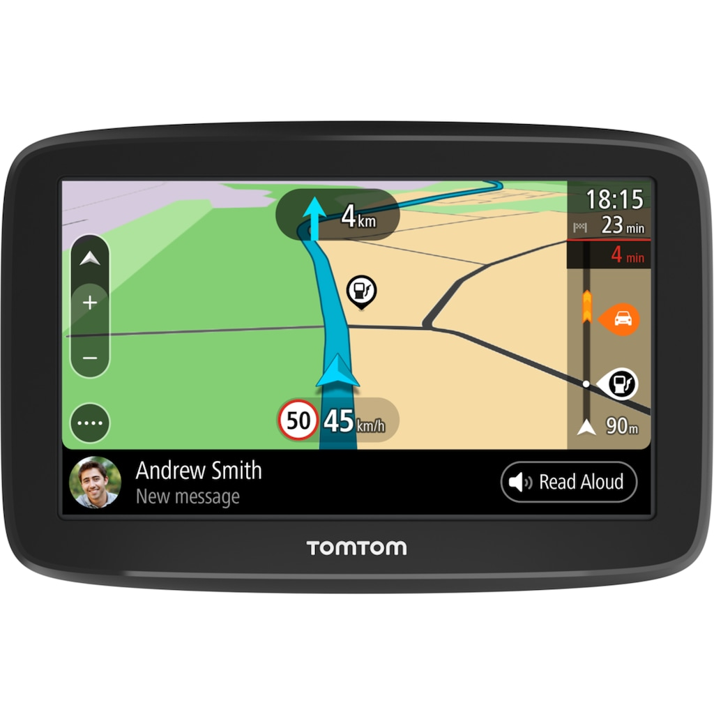 TomTom Navigationsgerät »GO BASIC 12,7 cm (5 Zoll) EU 45«, Navigationsgerät