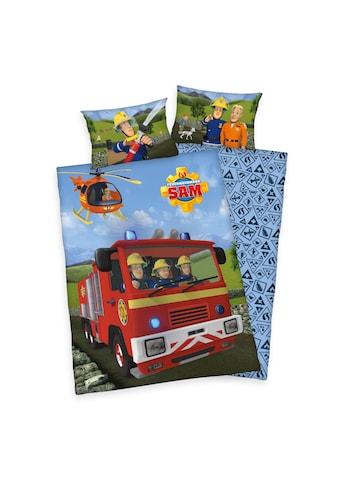 Baby Best Babybettwäsche »Feuerwehrmann Sam, Baumwoll-Renforcé« kaufen