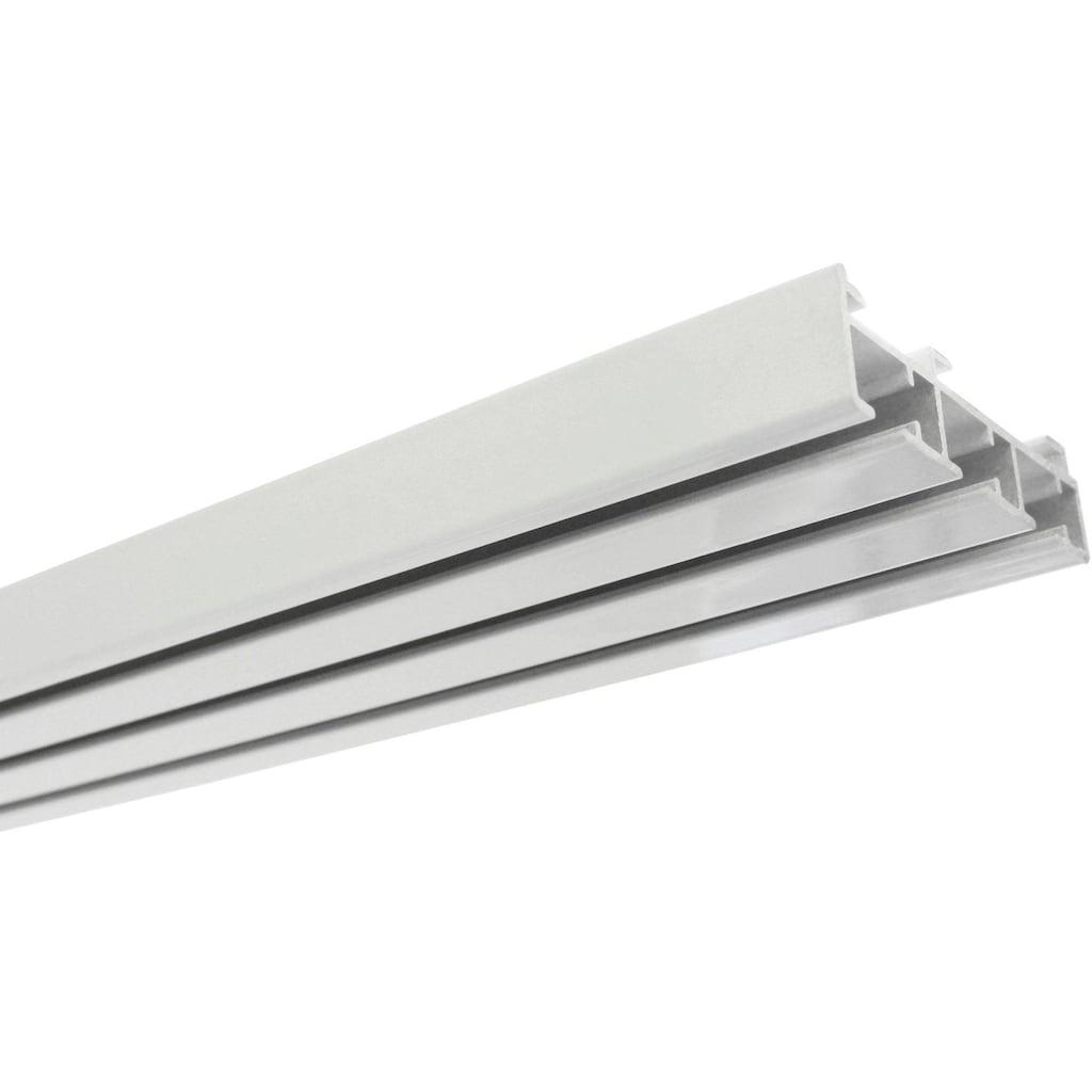GARDINIA Gardinenschiene »Flächenvorhangschiene 3-läufig«, kürzbar, Fixmaß, Serie Flächenvorhang Technik Atlanta