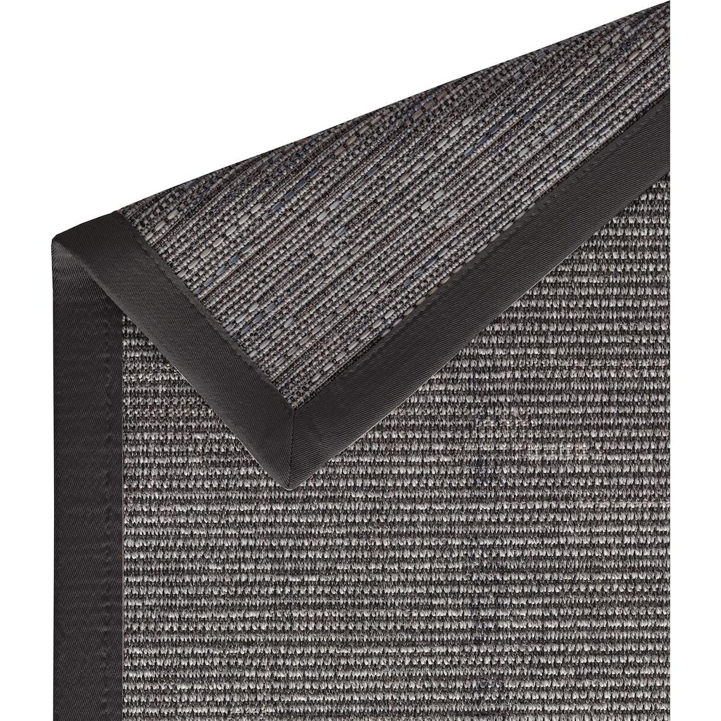 Dekowe Teppich »Naturino Effekt«, rechteckig, 8 mm Höhe, Flachgewebe, Sisal-Optik, mit Bordüre, In- und Outdoor geeignet, Wohnzimmer