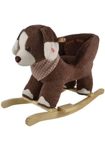 Knorrtoys® Schaukeltier »Hund Oskar«, mit Sound kaufen