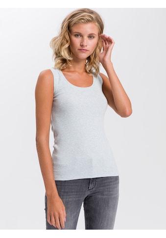 Cross Jeans® Tanktop »55524«, Ripp-Optik kaufen