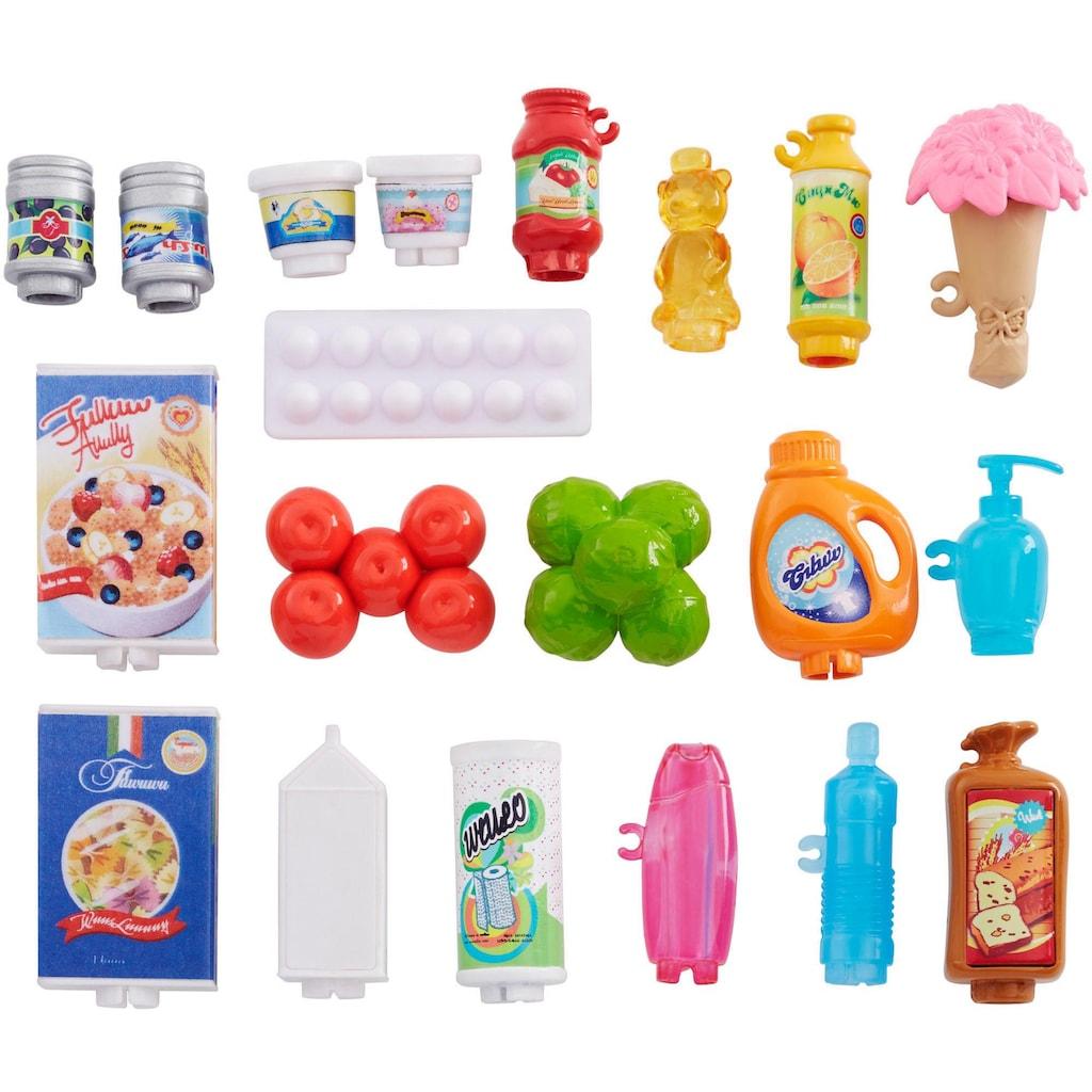 Barbie Anziehpuppe »Supermarkt und Puppe«, (Set, 20 tlg., inkl. Supermarkt)