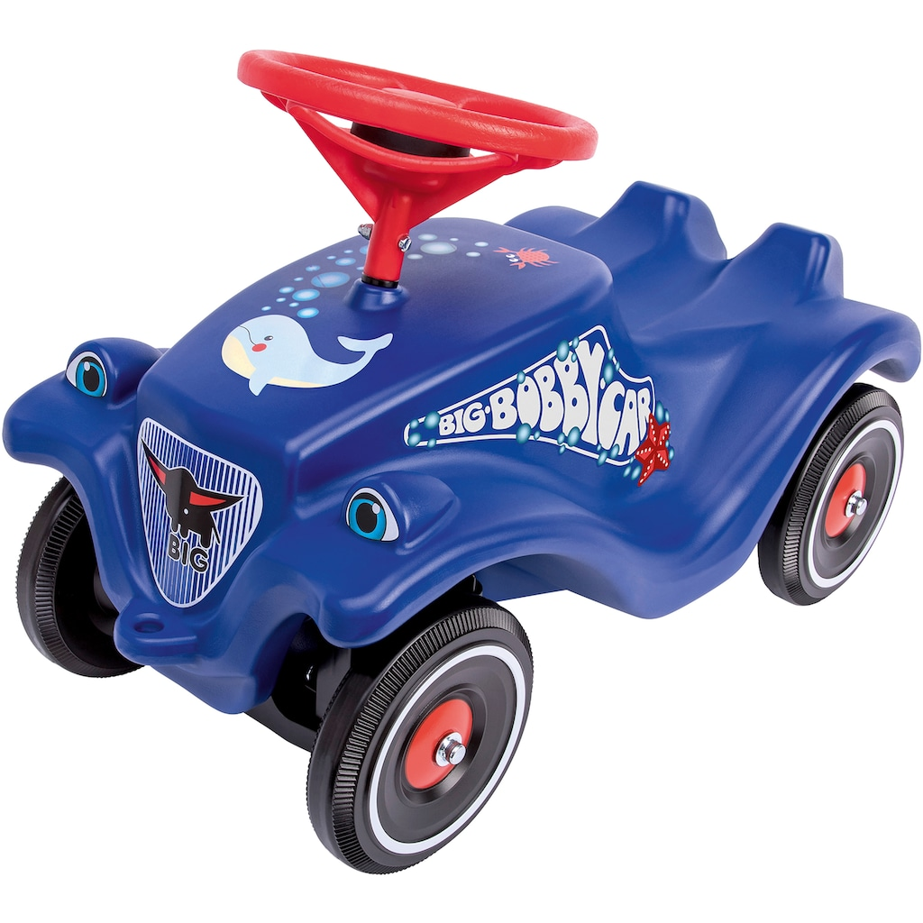 BIG Rutscherauto »BIG-Bobby-Car-Classic Ocean«, Made in Germany; mit Ozean-Aufklebersatz