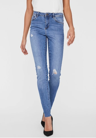 Vero Moda Skinny - fit - Jeans »VMTANYA MR S PIPING DST RAW« kaufen