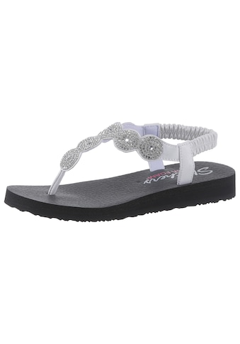 Skechers Sandale »Meditation - Stars & Sparkle«, mit Dämpfung durch Yoga Foam kaufen