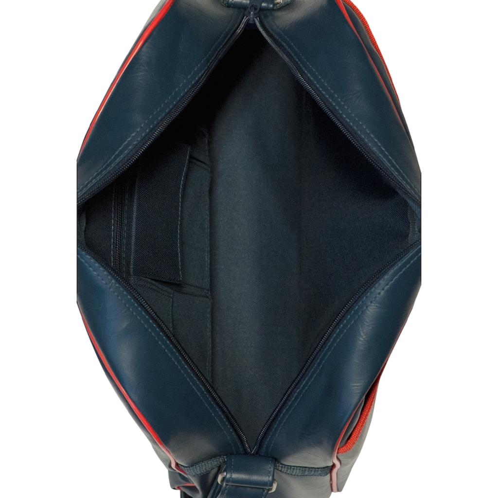 LOGOSHIRT Schultertasche mit coolem Superman-Logo