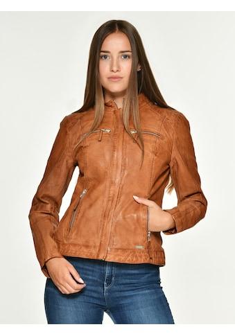 MUSTANG Lederjacke mit zwei Brusttaschen kaufen