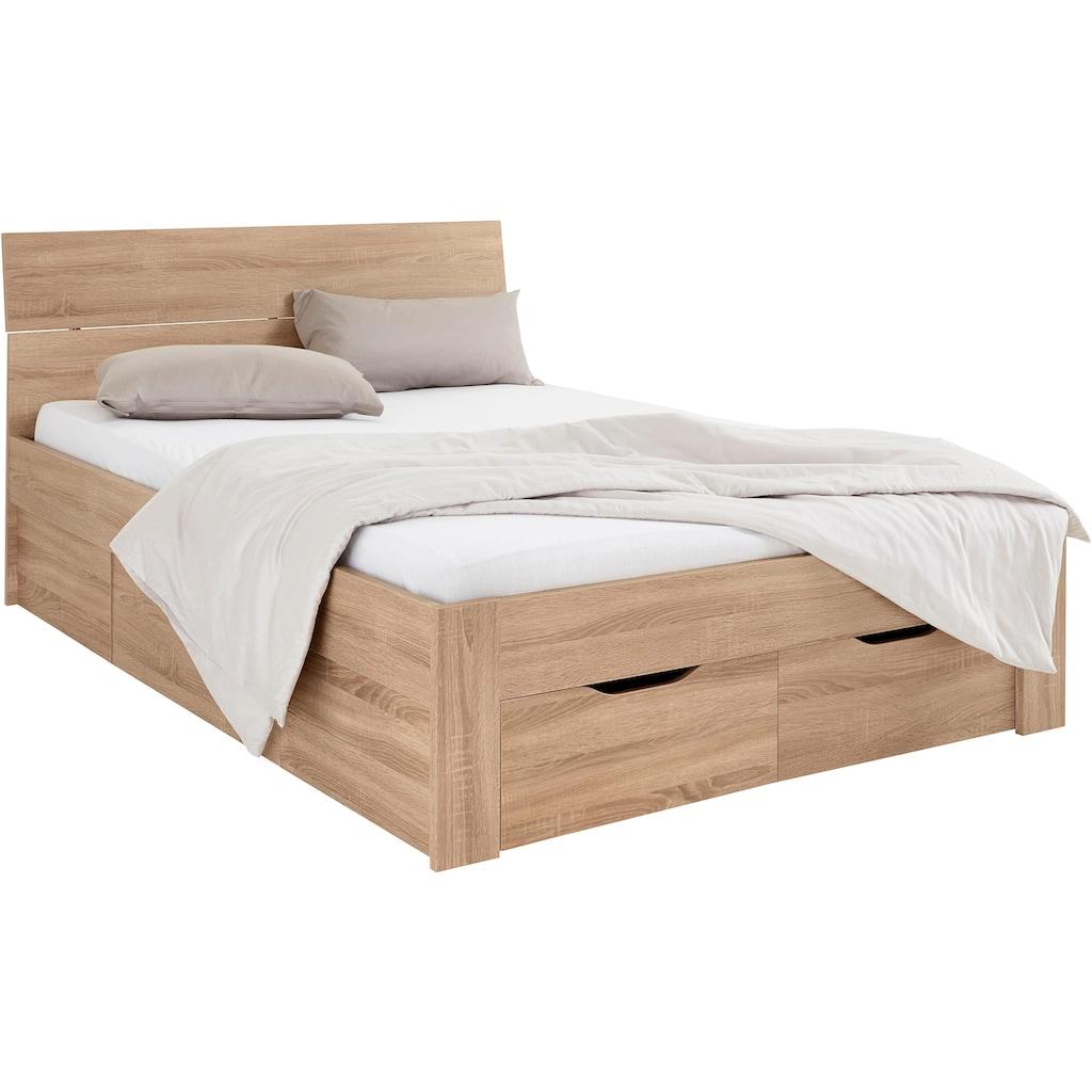 rauch BLUE Bett »Flexx«, inklusive Schubkästen