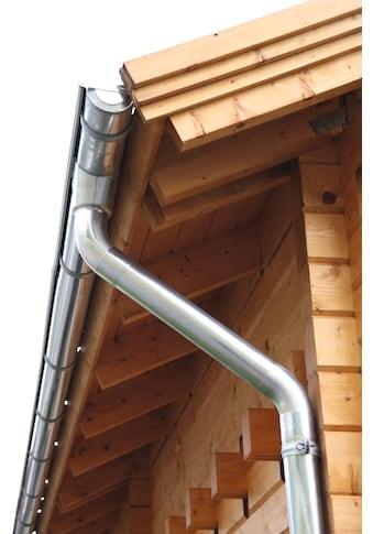 Wolff Dachrinne, Alu, für Satteldach bis 400 cm kaufen
