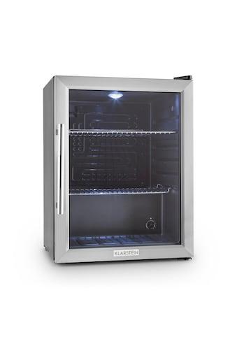 Klarstein Kühlschrank Minibar Getränkekühlschrank Glastür 60L Klasse »HEA Beersafe XL« kaufen