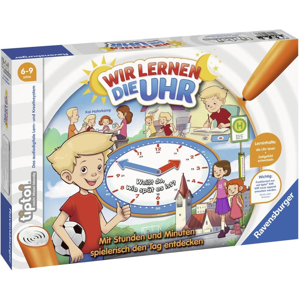 Ravensburger Spiel »tiptoi® Wir lernen die Uhr«, Made in Europe, FSC® - schützt Wald - weltweit