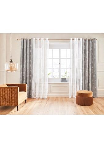 Vorhang, »Prag«, Guido Maria Kretschmer Home&Living, Ösen 1 Stück kaufen