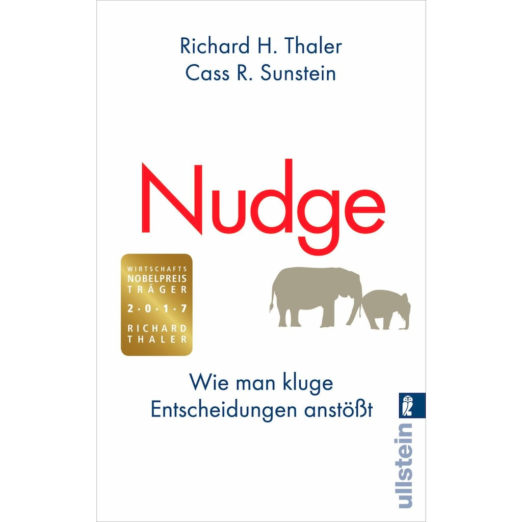 Buch »Nudge / Richard H. Thaler, Cass R. Sunstein, Christoph Bausum«