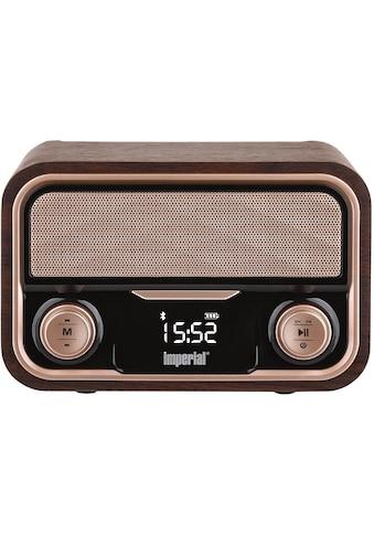 IMPERIAL Bluetooth-Lautsprecher »BEATSMAN RETRO«, Bluetooth, USB Anschluss, Micro-SD kaufen