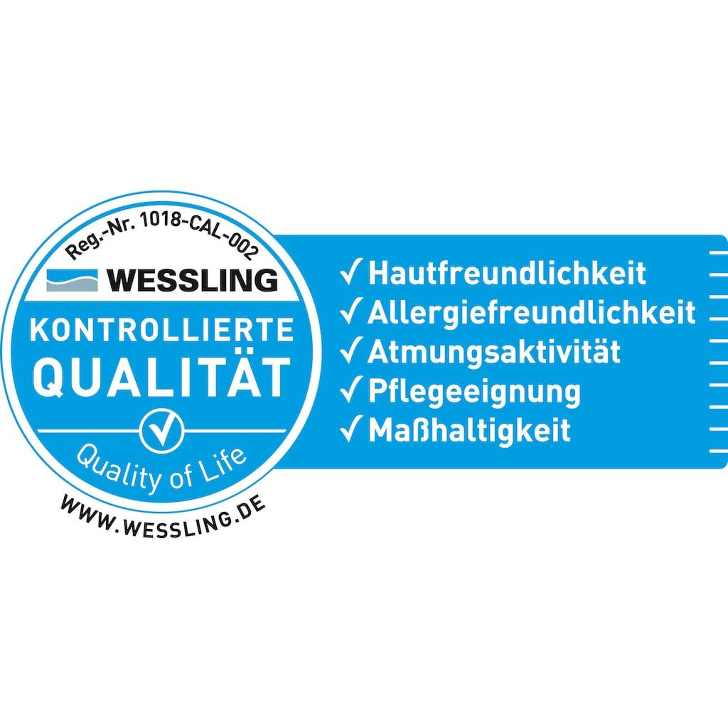 OBB Daunenbettdecke »One&Only«, Füllung Weiße neue Daunen, Klasse 1, 100% Entendaunen, Bezug Mako-Einschütte – 100% Baumwolle, (1 St.)