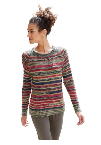 Casual Looks. Pullover in fröhlichen Herbstfarben kaufen