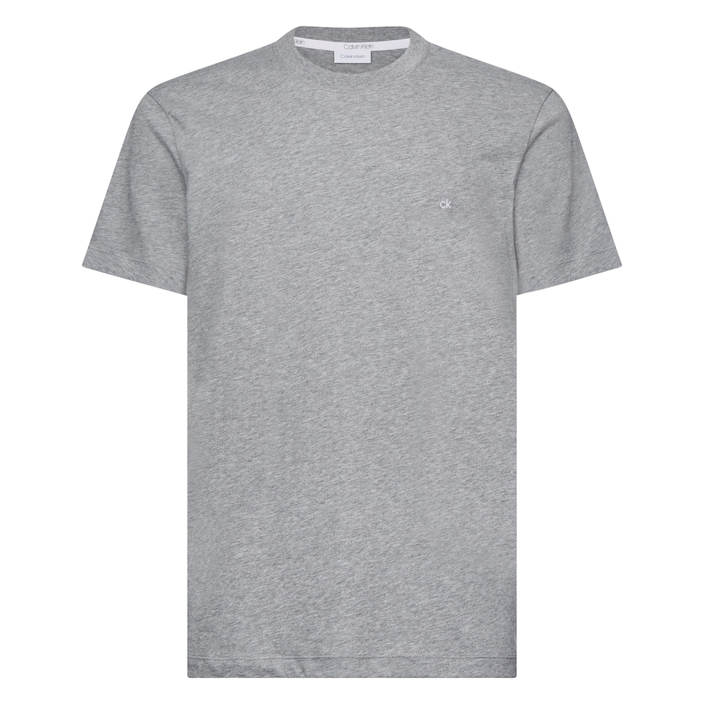 Calvin Klein T-Shirt »COTTON LOGO EMBROIDERY«, kleine ck- Stickerei