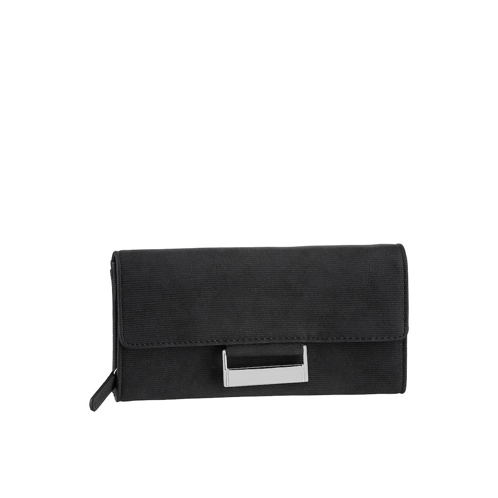 GERRY WEBER Bags Geldbörse »be different purse lh9f«, im zeitlosen Desing mit silberfarbenen Details