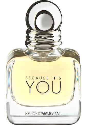 Giorgio Armani Eau de Parfum »Because it's You« kaufen