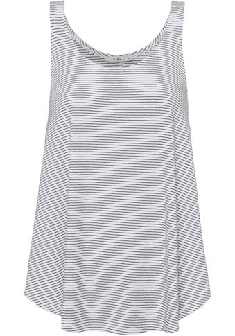 LTB Shirttop »COZOGA«, im Streifendesign mit abgerundetem Saum kaufen