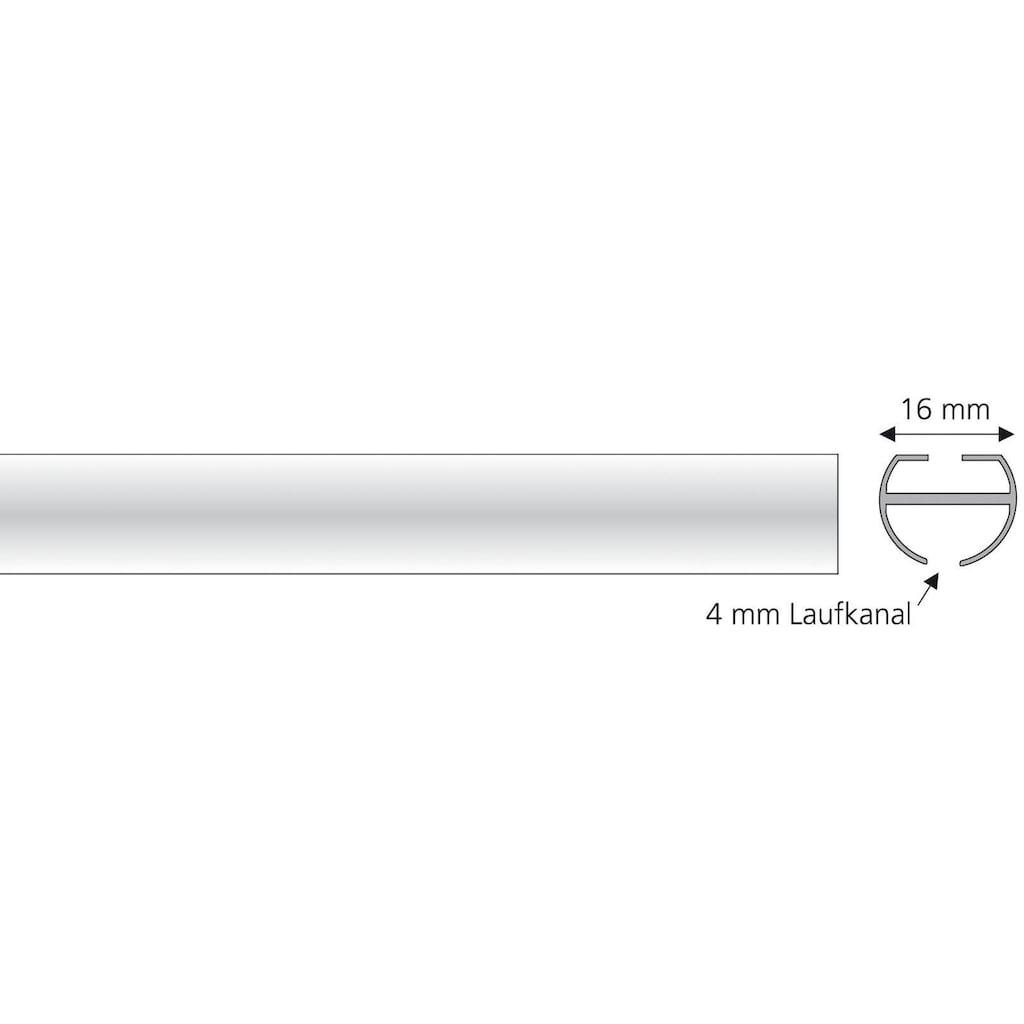 Liedeco Innenlaufprofil, (1 St.), 1-läufig im Fixmaß Ø 16 mm