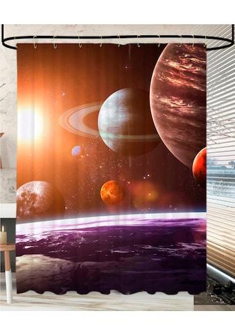 Sanilo Duschvorhang »Planeten«, Breite 180 cm, Höhe 200 cm kaufen