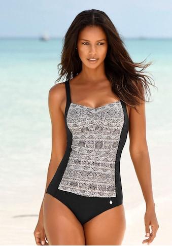 LASCANA Badeanzug, mit Print und Shaping-Effekt kaufen