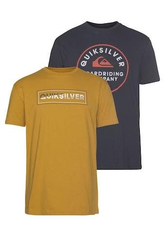 Quiksilver T-Shirt »RAINBOW COMP FLAXTON YM PACK« kaufen