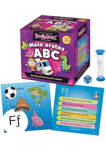 BrainBox Spiel »Mein erstes ABC« kaufen