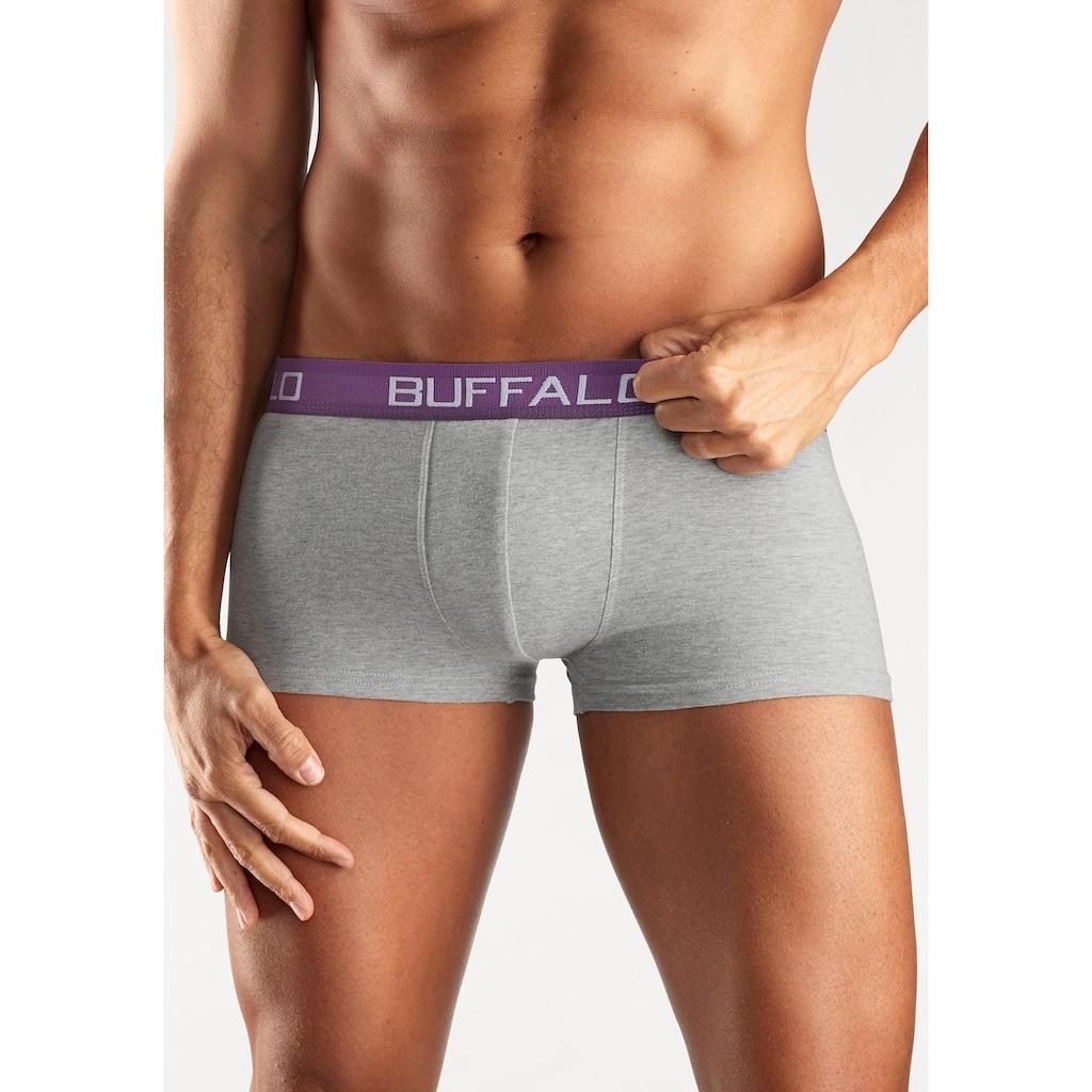 Buffalo Hipster, (4 St.), mit Kontrastbund