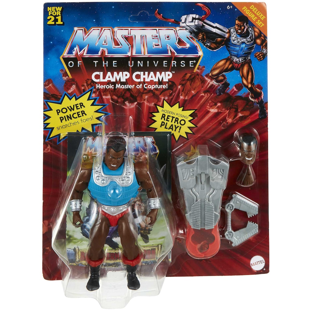 Mattel® Actionfigur »Masters of the Universe, Origins Deluxe Clamp Champ«