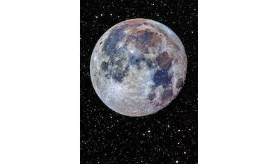Komar Fototapete »Lunar«, bedruckt-Comic-Retro-mehrfarbig, BxH: 200x280 cm kaufen