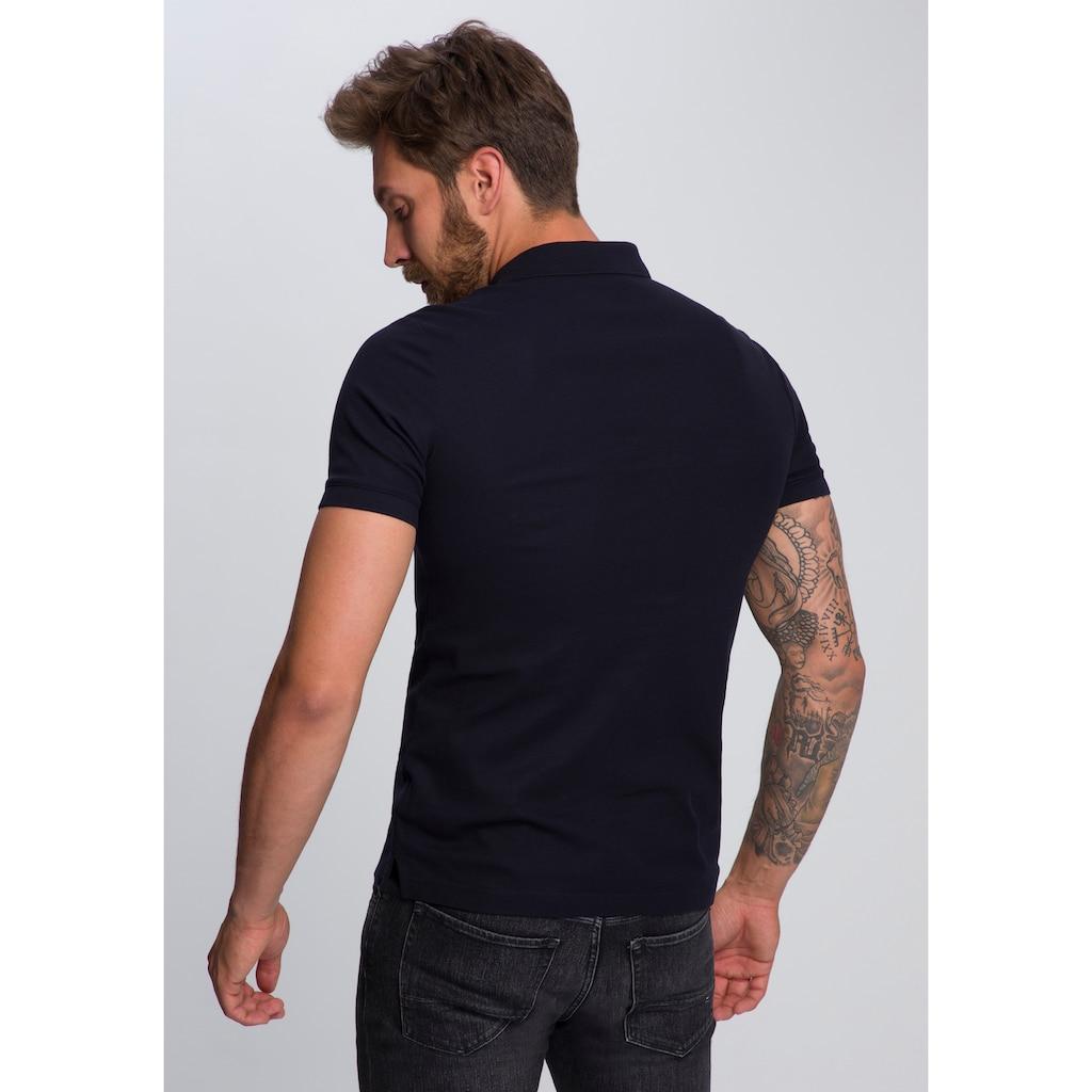 Calvin Klein Poloshirt »LOGO REFINED PIQUE SLIM«