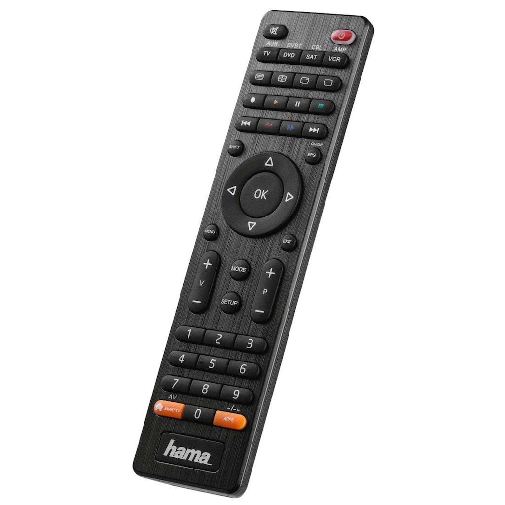 Hama Universal Ersatzfernbedienung für 8 Geräte (z.B. TV, DVD)