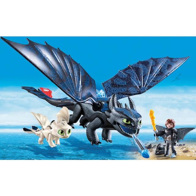 "Playmobil® Konstruktions-Spielset ""Ohnezahn und Hicks Spielset (70037), Dragons"", Kunststoff"