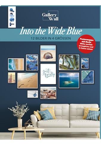 """Buch »Gallery Wall """"Into The Wide Blue"""". 12 Bilder in 4 Größen / Frederike Treu« kaufen"""