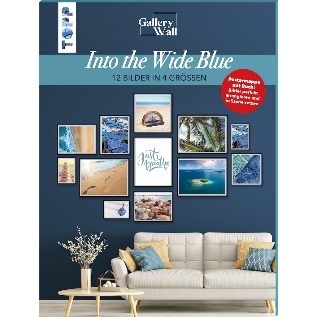 "Buch »Gallery Wall ""Into The Wide Blue"". 12 Bilder in 4 Größen / Frederike Treu«"