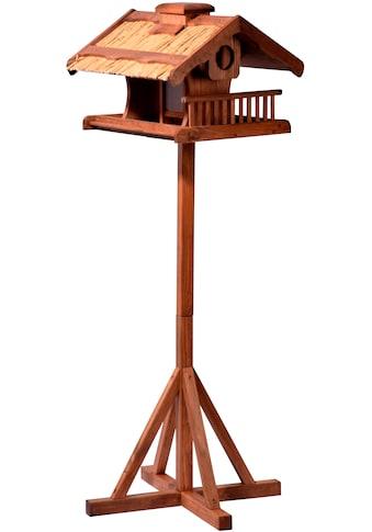 LUXUS-VOGELHAUS Vogelhaus, BxTxH: 54x53x157,5 cm, mit Standbein kaufen