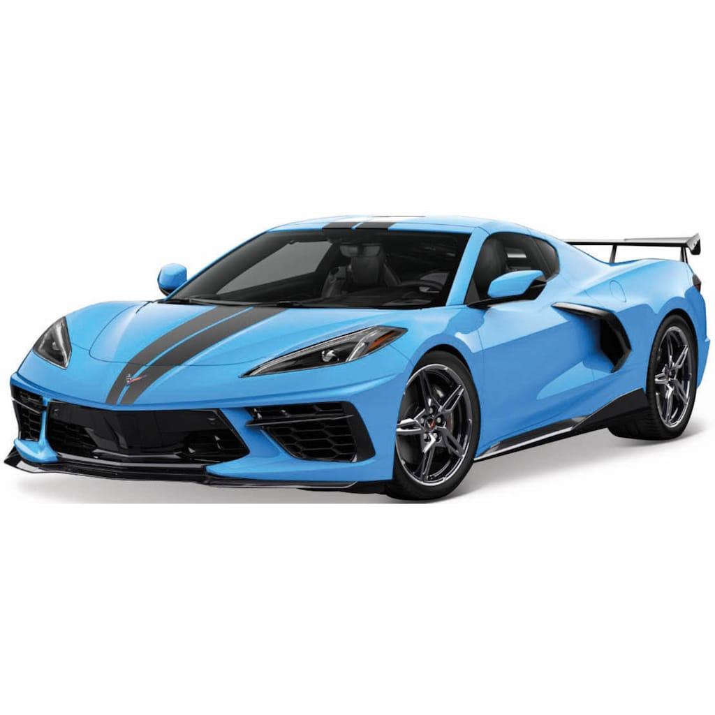 Maisto® Sammlerauto »Chevrolet Corvette Stingray Coupe ´20 high Wing«, 1:18