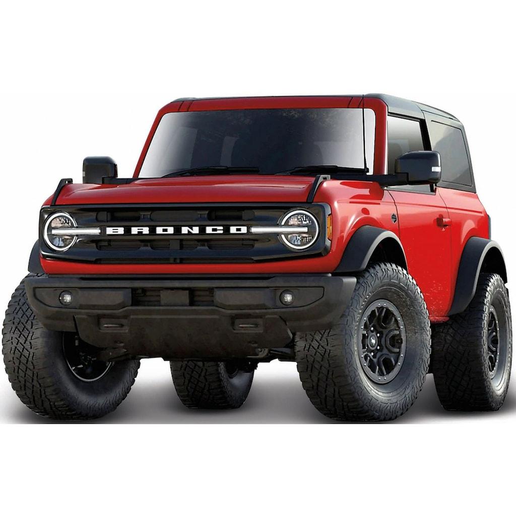 Maisto® Sammlerauto »Ford Bronco ´21, 2 doors Wildtrack«, 1:18