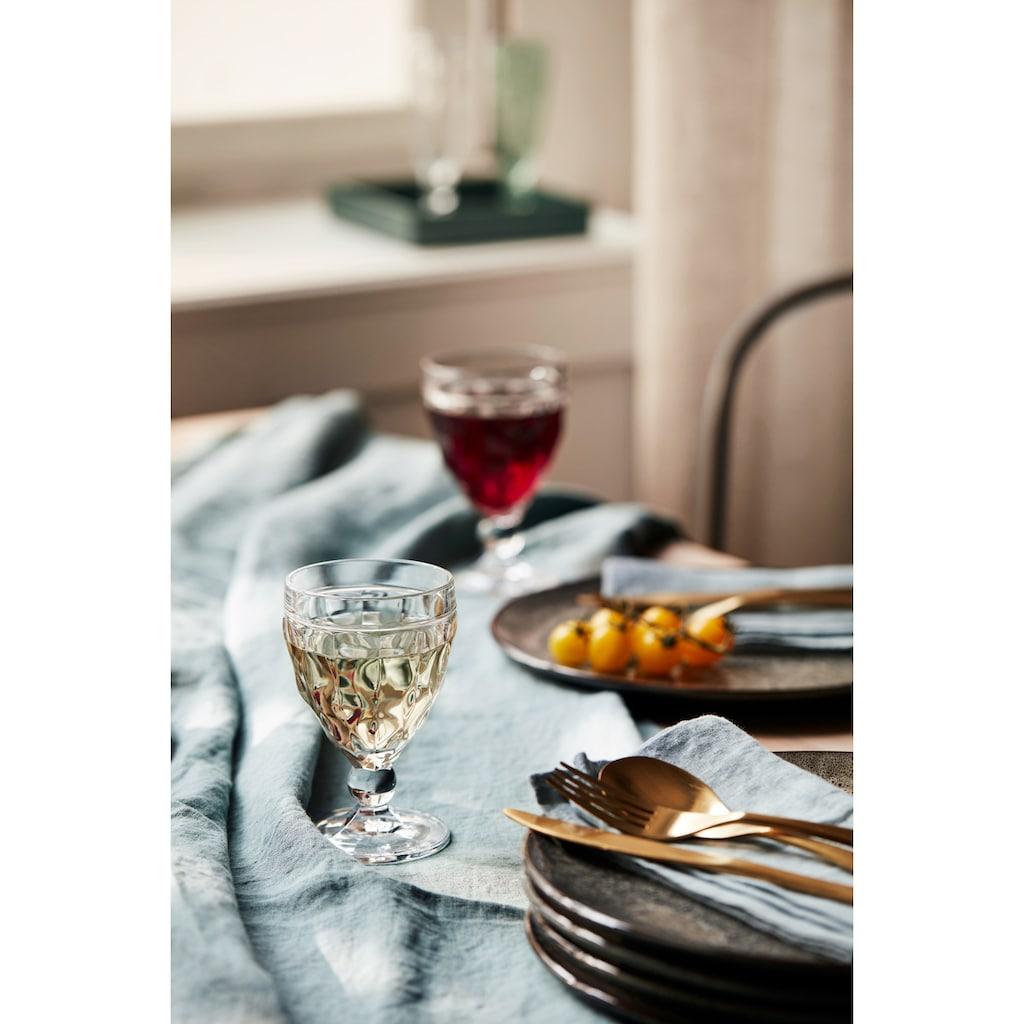 LEONARDO Weißweinglas »BRINDISI«, (Set, 6 tlg.), 240 ml, 6-teilig