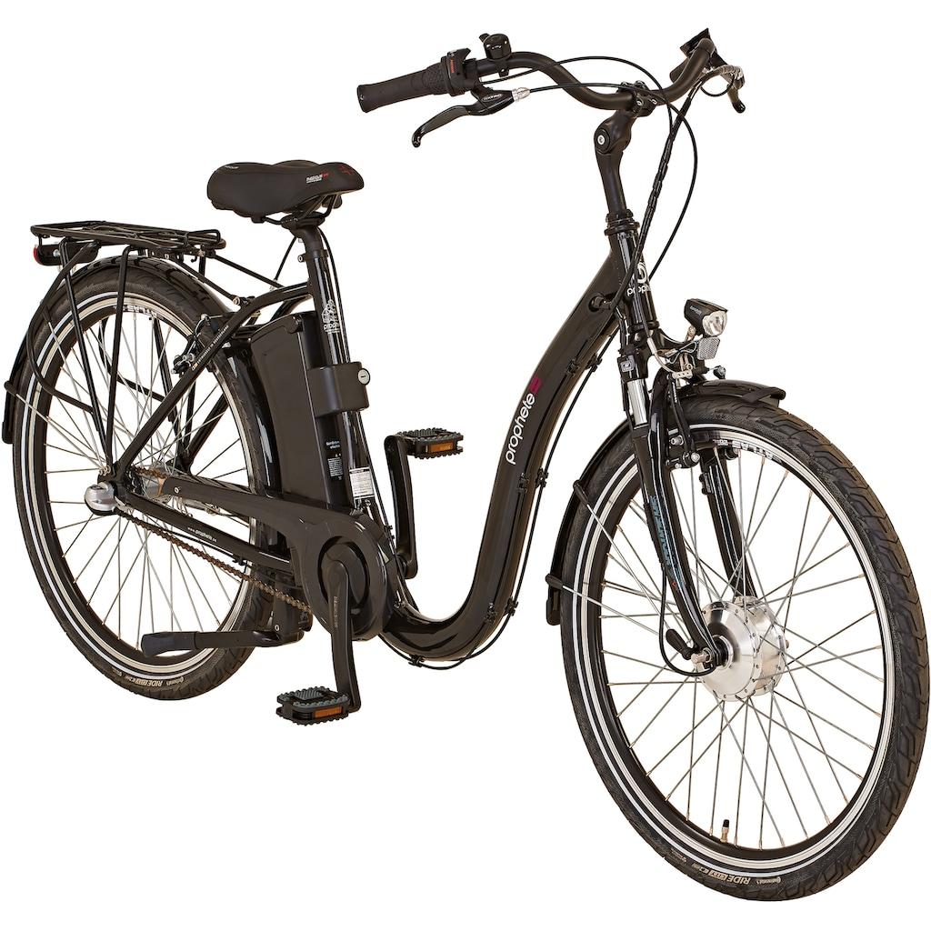 """Prophete E-Bike »GENIESSER City E-Bike 26""""«, 3 Gang, Shimano, Frontmotor 250 W"""