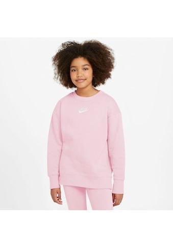 Nike Sportswear Sweatshirt »CLUB FLEECE BIG KIDS (GIRLS) CREW« kaufen