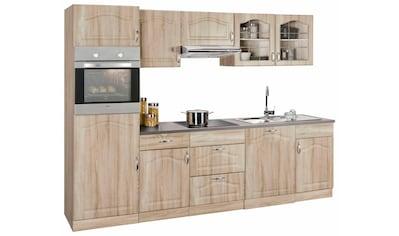 wiho Küchen Küchenzeile »Linz«, mit E - Geräten, Breite 280 cm kaufen