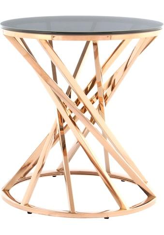 Kayoom Beistelltisch »Beistelltisch Wesley 125«, schöne gedrehte Form kaufen