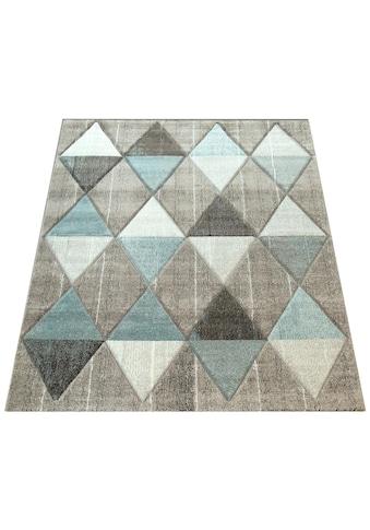Paco Home Teppich »Lara 234«, rechteckig, 18 mm Höhe, Wohnzimmer-Teppich in schönen... kaufen
